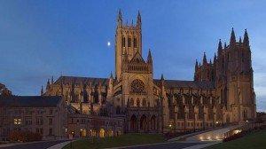 Washington-National-Cathedral-at-twilight-Public-Domain