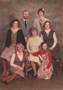 Storlie Family (circa 1979)